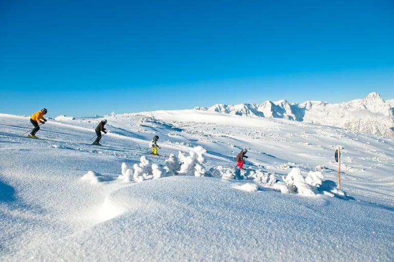 Alpin Skifahren in Hinterstoder und auf der Wurzeralm